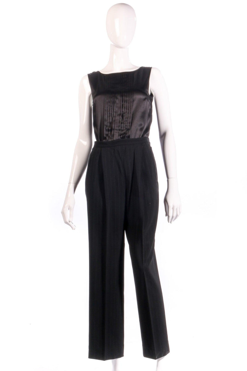Max Marra tailored black trousers