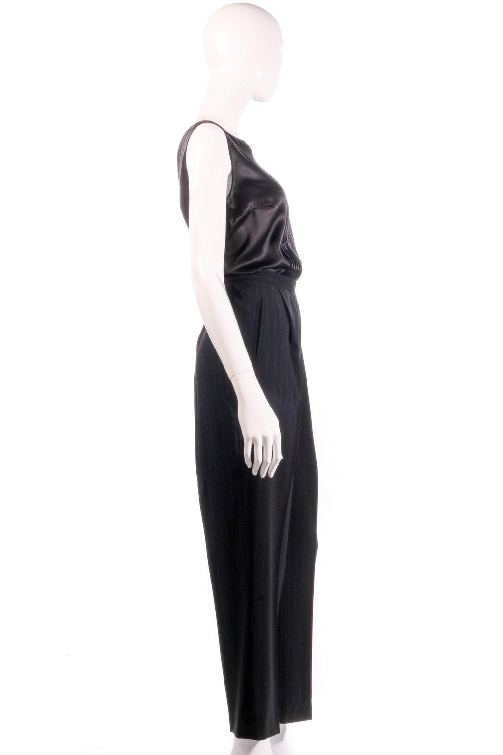 Max Marra tailored black trousers  side