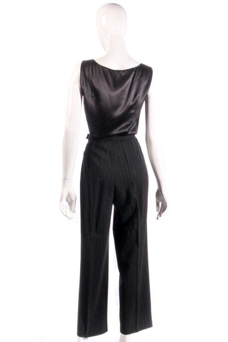 Max Marra tailored black trousers  back