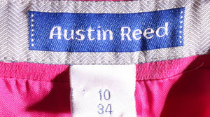 Austin Reed pink trousers size 10  label