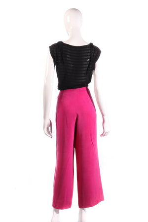 Austin Reed pink trousers size 10  back