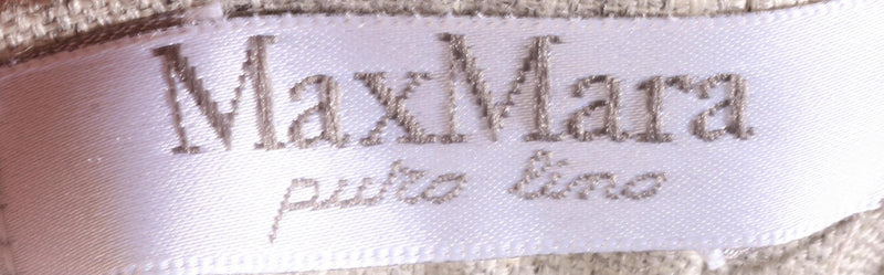 Max Mara grey suit label