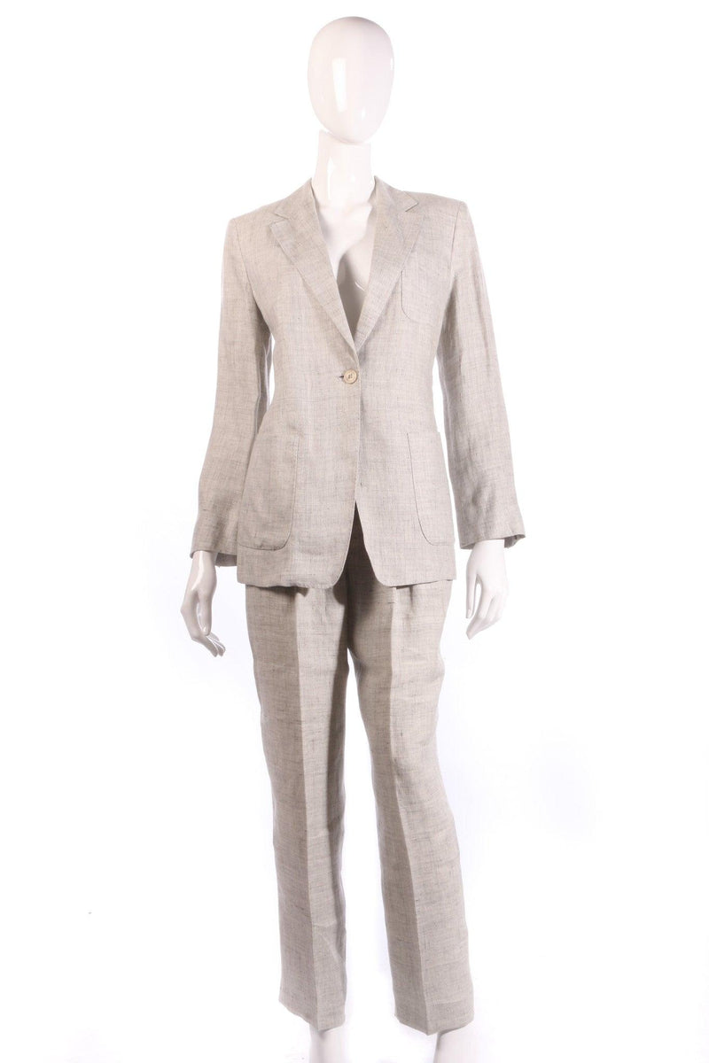 Max Mara grey suit