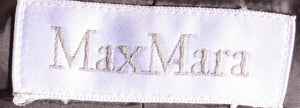 Max mara dark grey suit  label