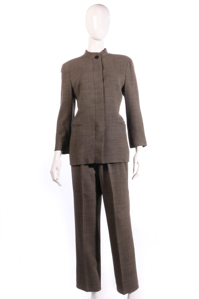 Max mara dark grey suit