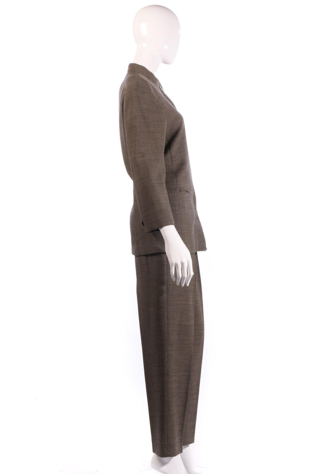 Max mara dark grey suit  side