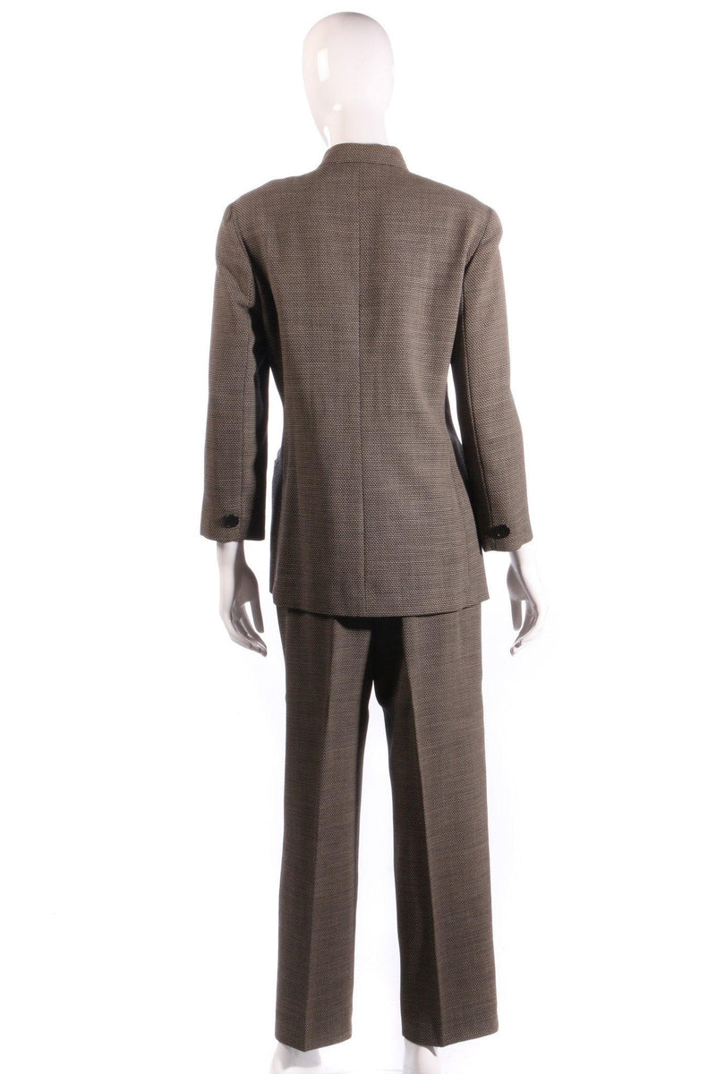 Max mara dark grey suit  back