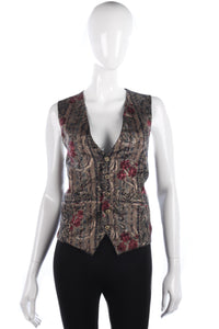 Lovely vintage waistcoat size S/M