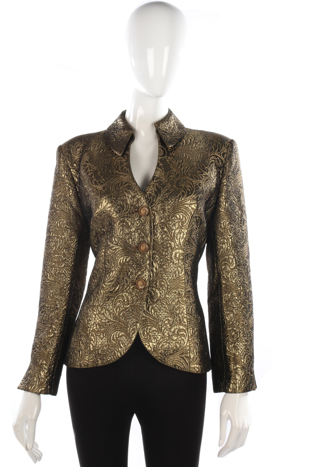 Amazing vintage gold jacket size 12/14