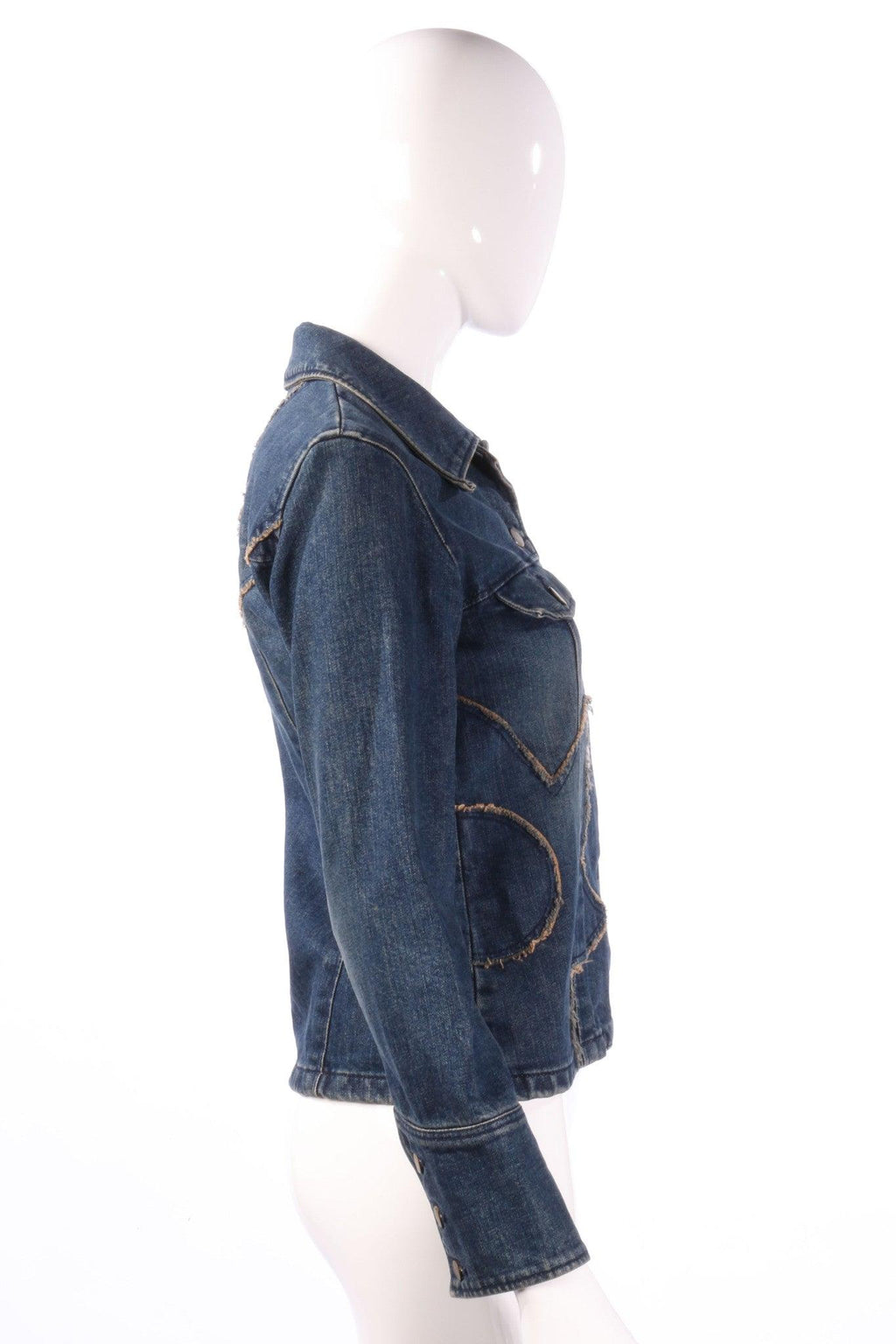 Parick Cox wanabe denim jacket side
