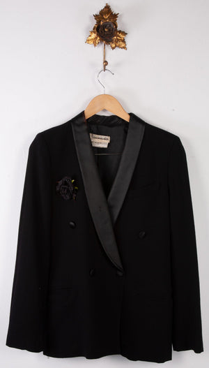Georges Rech Vintage Dinner Jacket Black UK 12