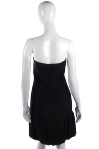 R.E.D Valentino designer black dress size M