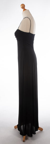Laundry by Shelli Segal Black Evening Gown Size 8
