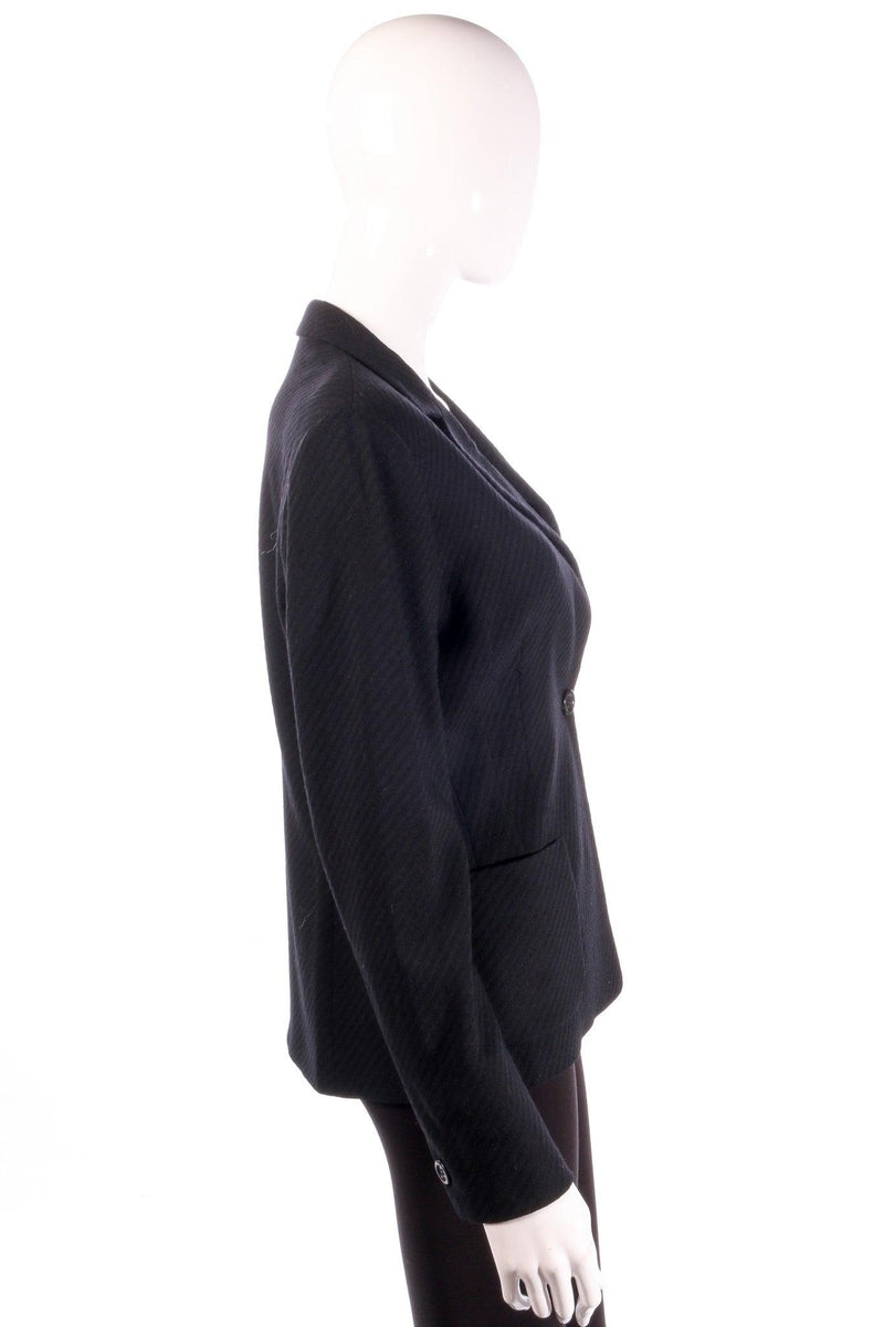 Marella black formal jacket side