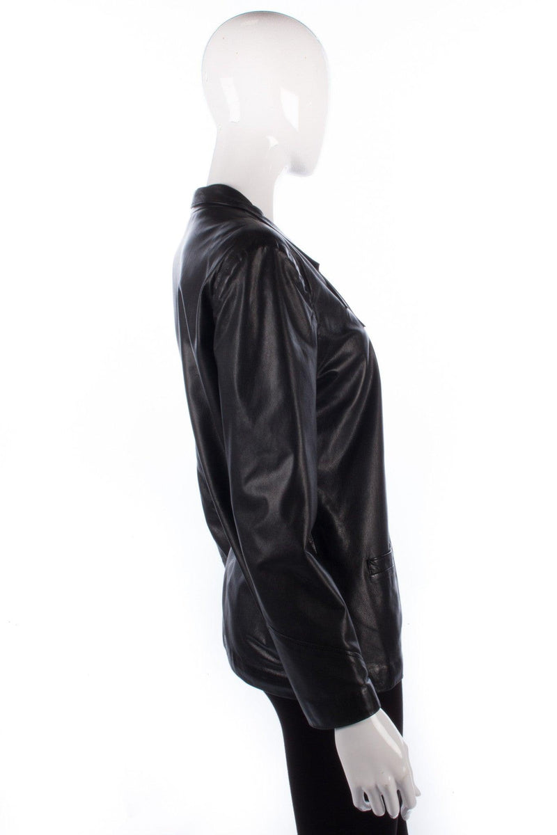 Sabry soft black leather jacket size M/L