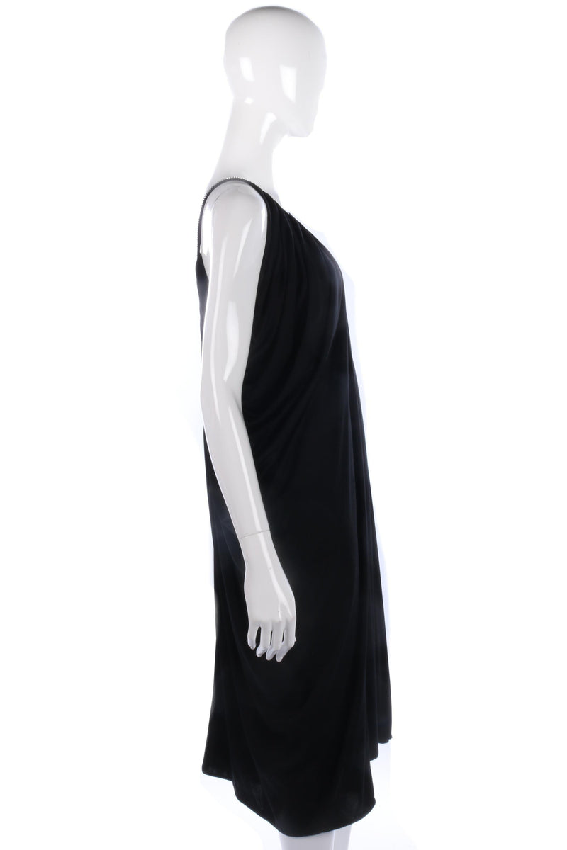 John marks by Anne Tyrrell black dress with diamantles size 12