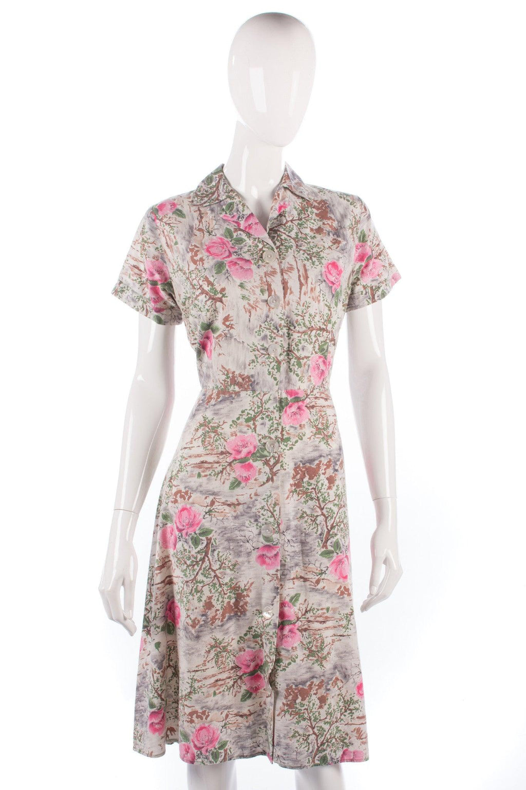 Vintage Dandy cotton 1950's dress