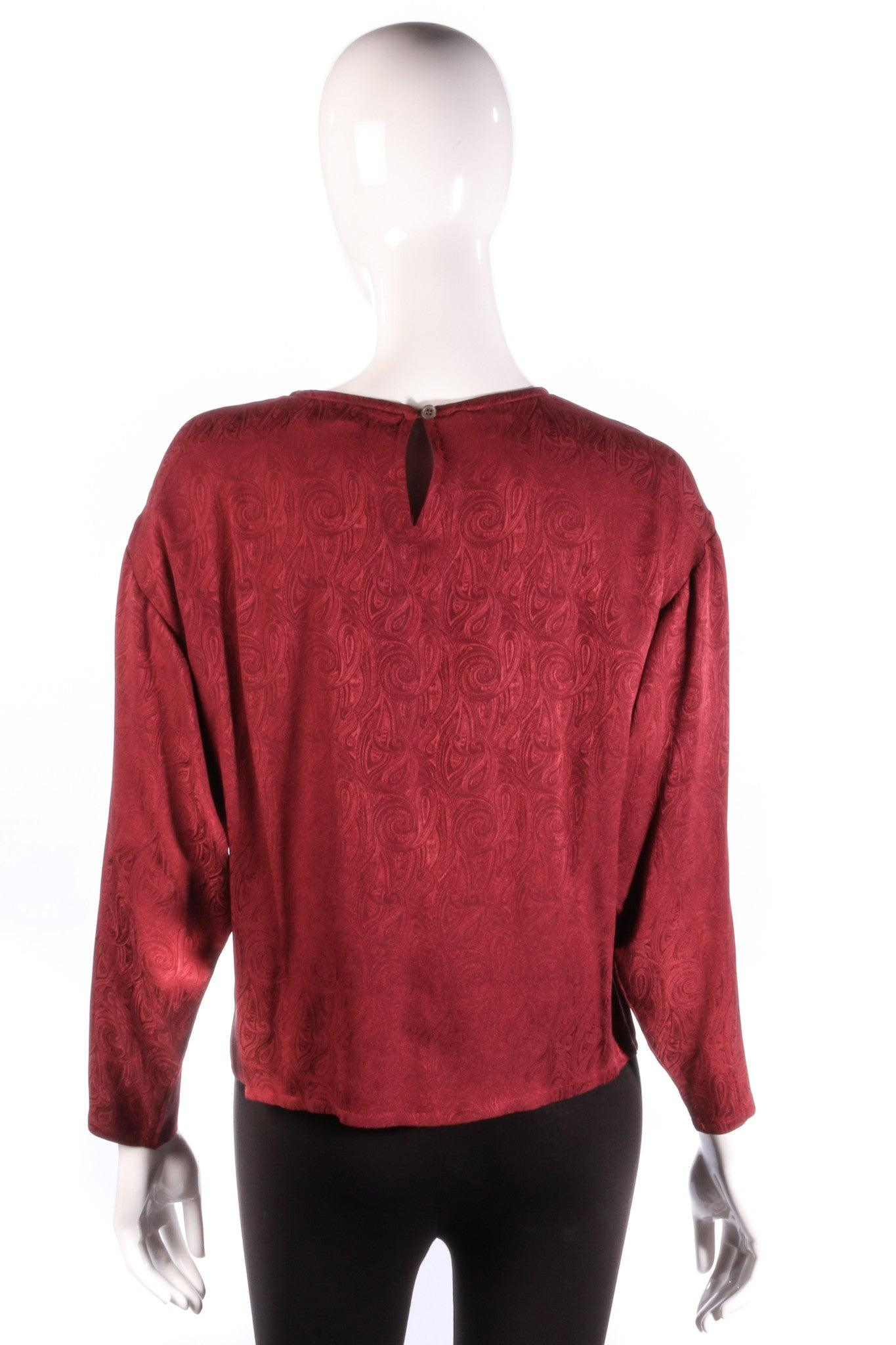 Austin Reed Designer Studio Silk Blouse Dark Red Uk Size 12 Ava Iva Austin Reed Designer Studio Silk Blouse Dark Red Uk Size 12 22 00 Gbp 12 Red Silk 22 00 Size 12 Color Red Material Silk Sku Ss0616500 Fcr20 Quantity Share View Full
