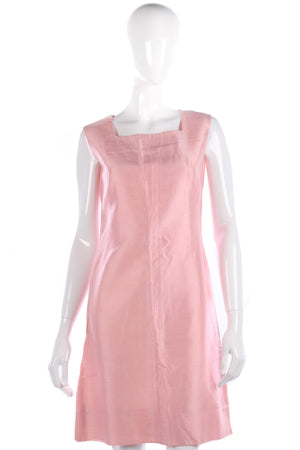 Panache by Elizabeth Henry Pink Silk Dress and Suit Jacket. UK Size 8
