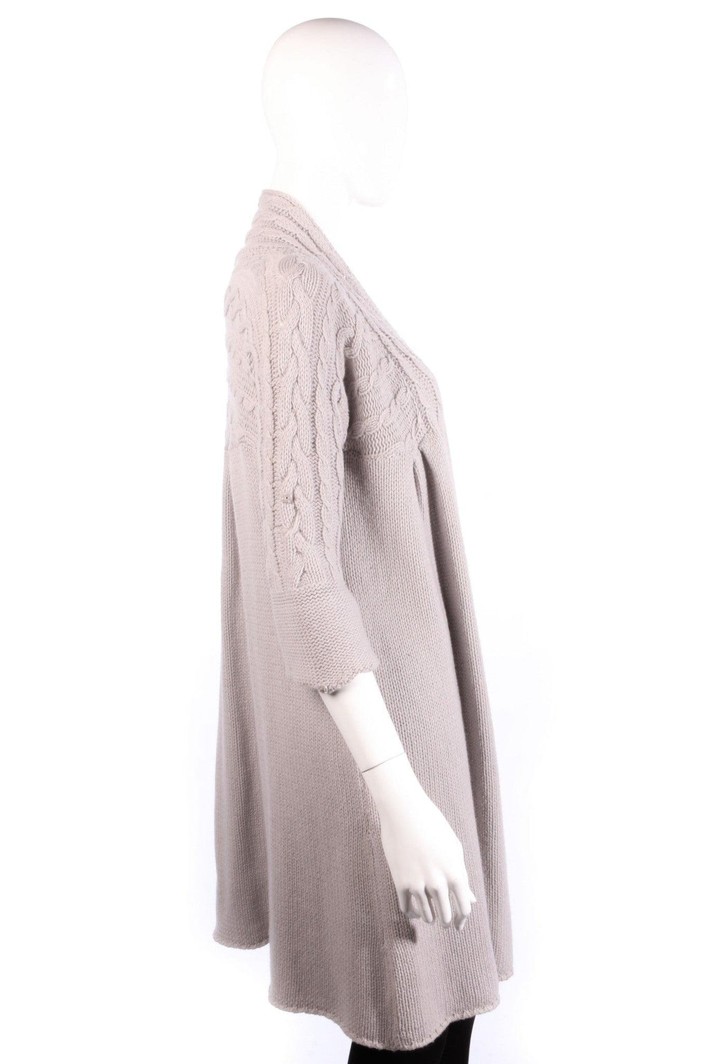 Day Birger Long Cardigan Wool Mix Grey Size S