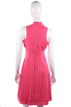 Designer Andrew Marc New York pink dress size 8