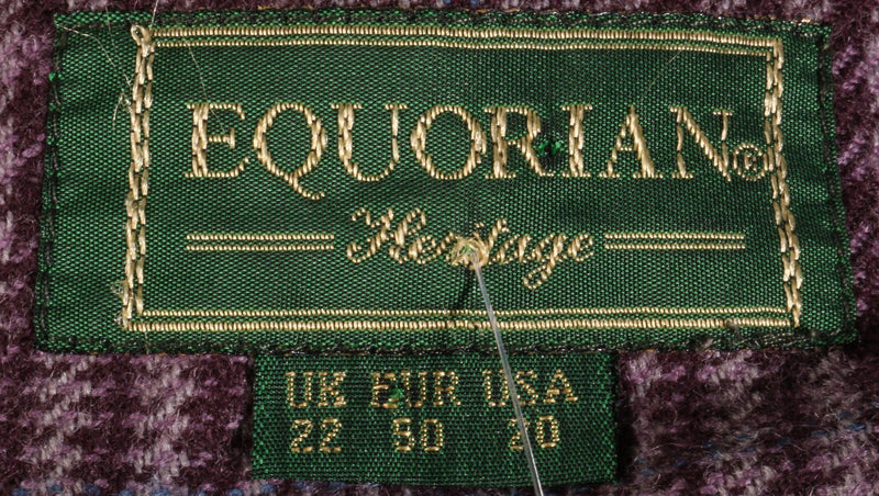 Equorian wool jacket size 22 label