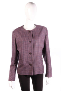 Equorian wool jacket size 22