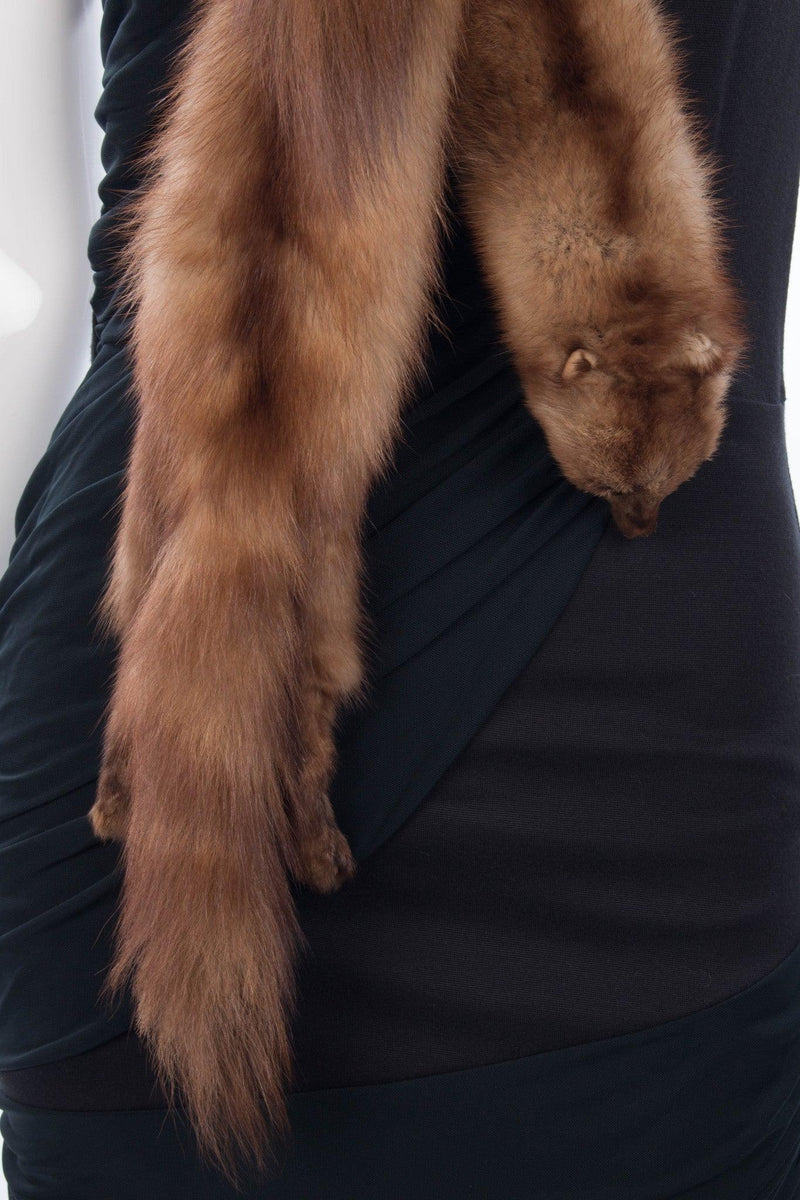 Vintage Maxwell Croft shaped mink collar