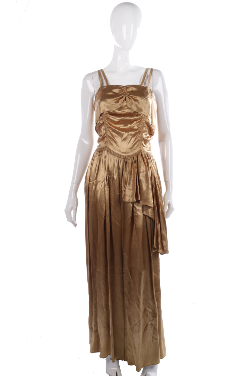Amazing gold vintage ball gown