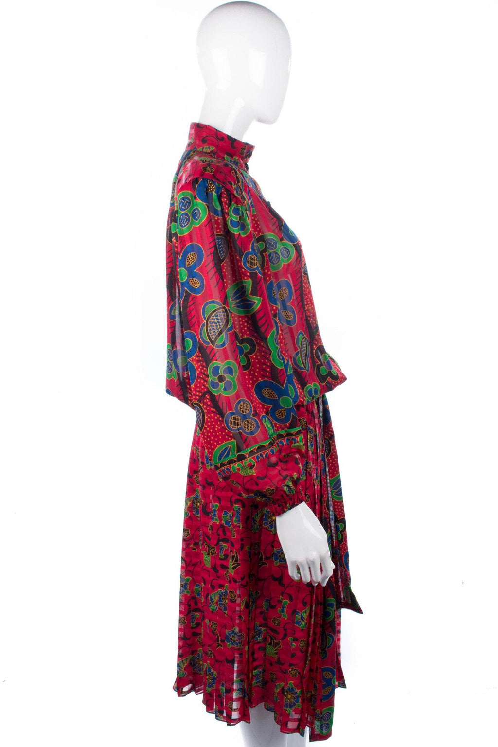 Vintage 1980's Kanga Collection by Dale Tryon London dress