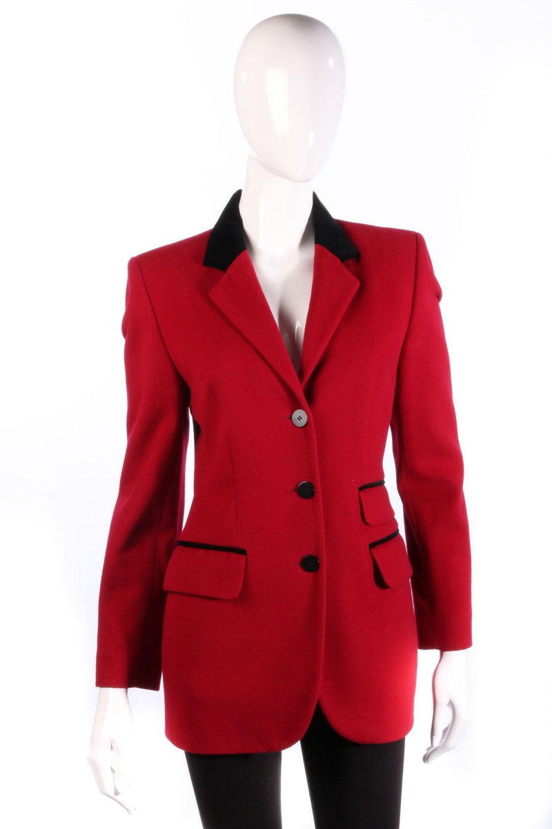 Paul Costelloe Dressage  red jacket