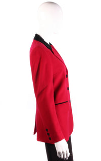 Paul Costelloe Dressage red jacket side