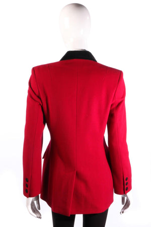 Paul Costelloe Dressage red jacket back