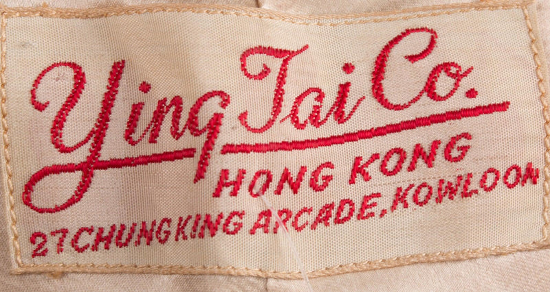 Ying Tai Co chinese silk gold jacket