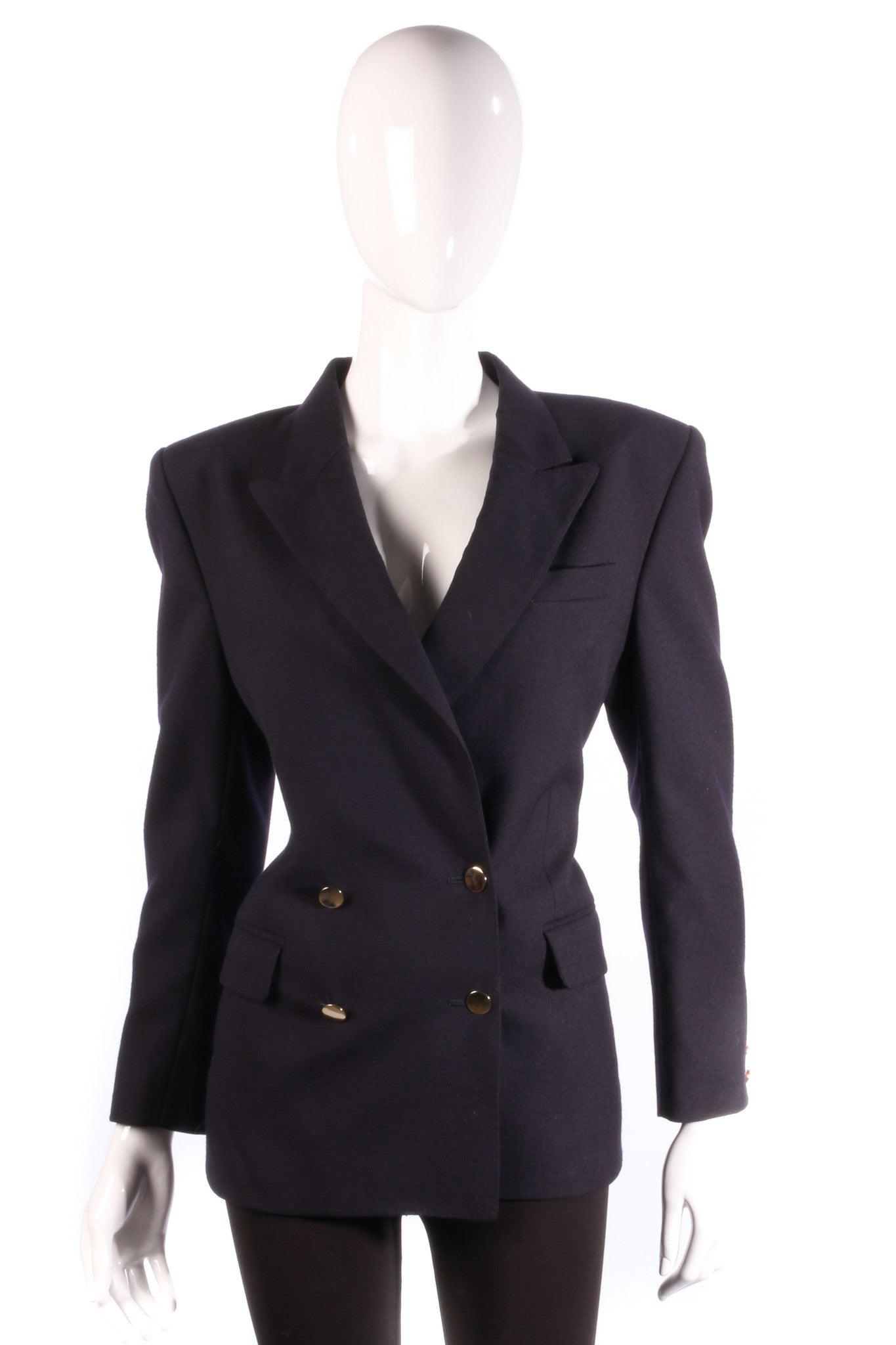 Options At Austin Reed Very Dark Blue Jacket Size 12 Ava Iva