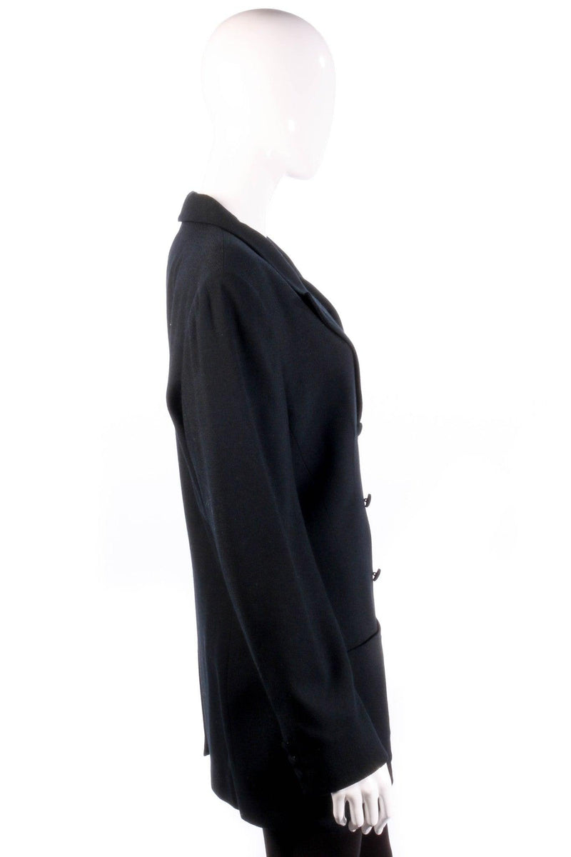 Black formal blazer side