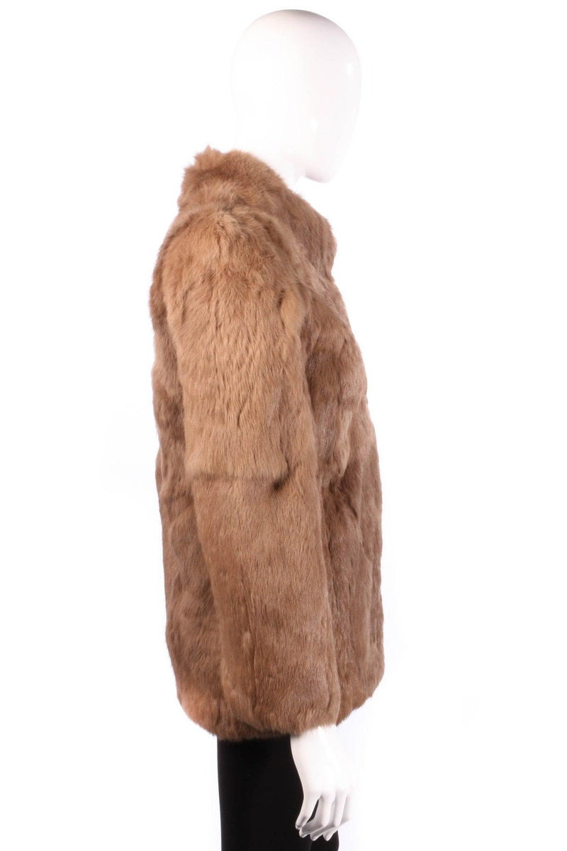 Fur Origin France brown coat side