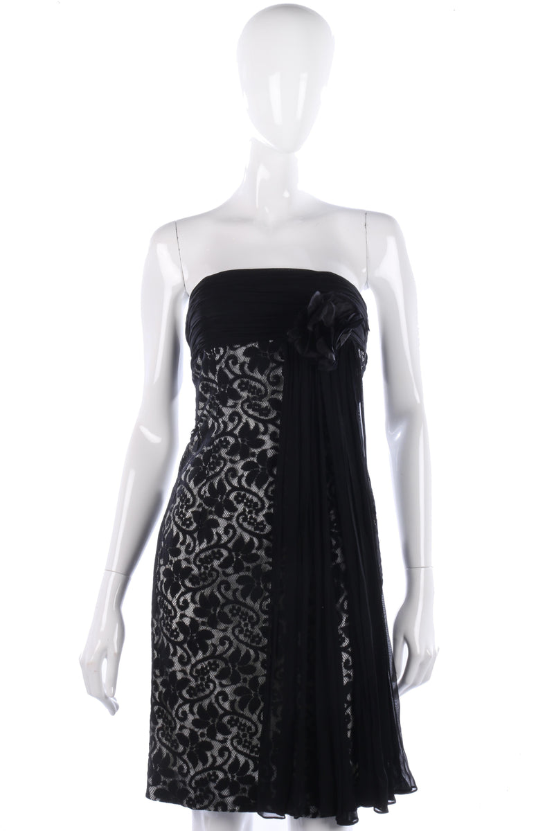 Terence Nolder lace cocktail dress size S