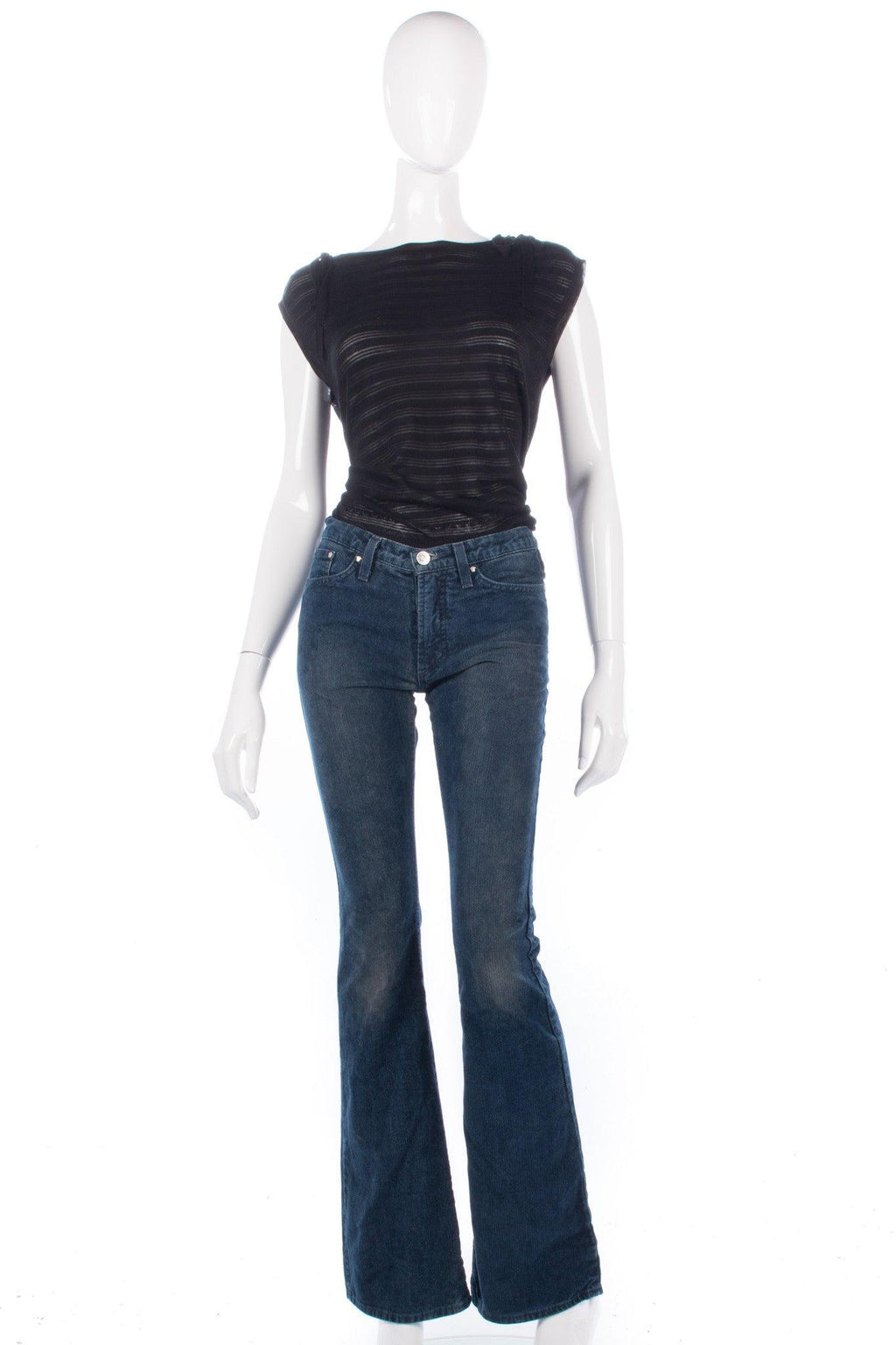 Versace Jeans Couture Dark Blue Jeans Size IT38 (UK 6)