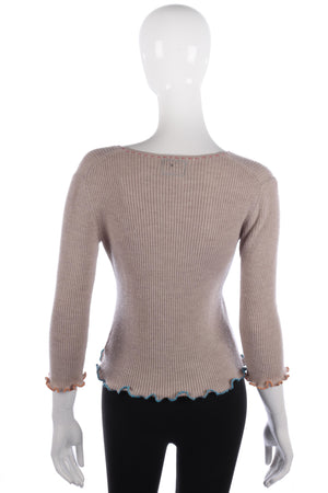 Just Maude fine wool jumper size M