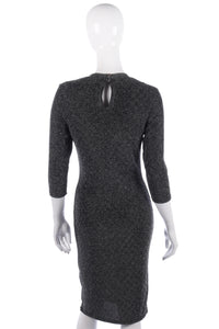 Dorothy Perkins silver sparkly dress size 12
