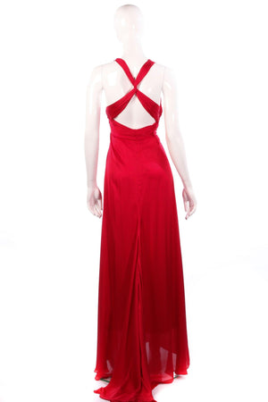 Ever-Pretty red ball gown size 12 back