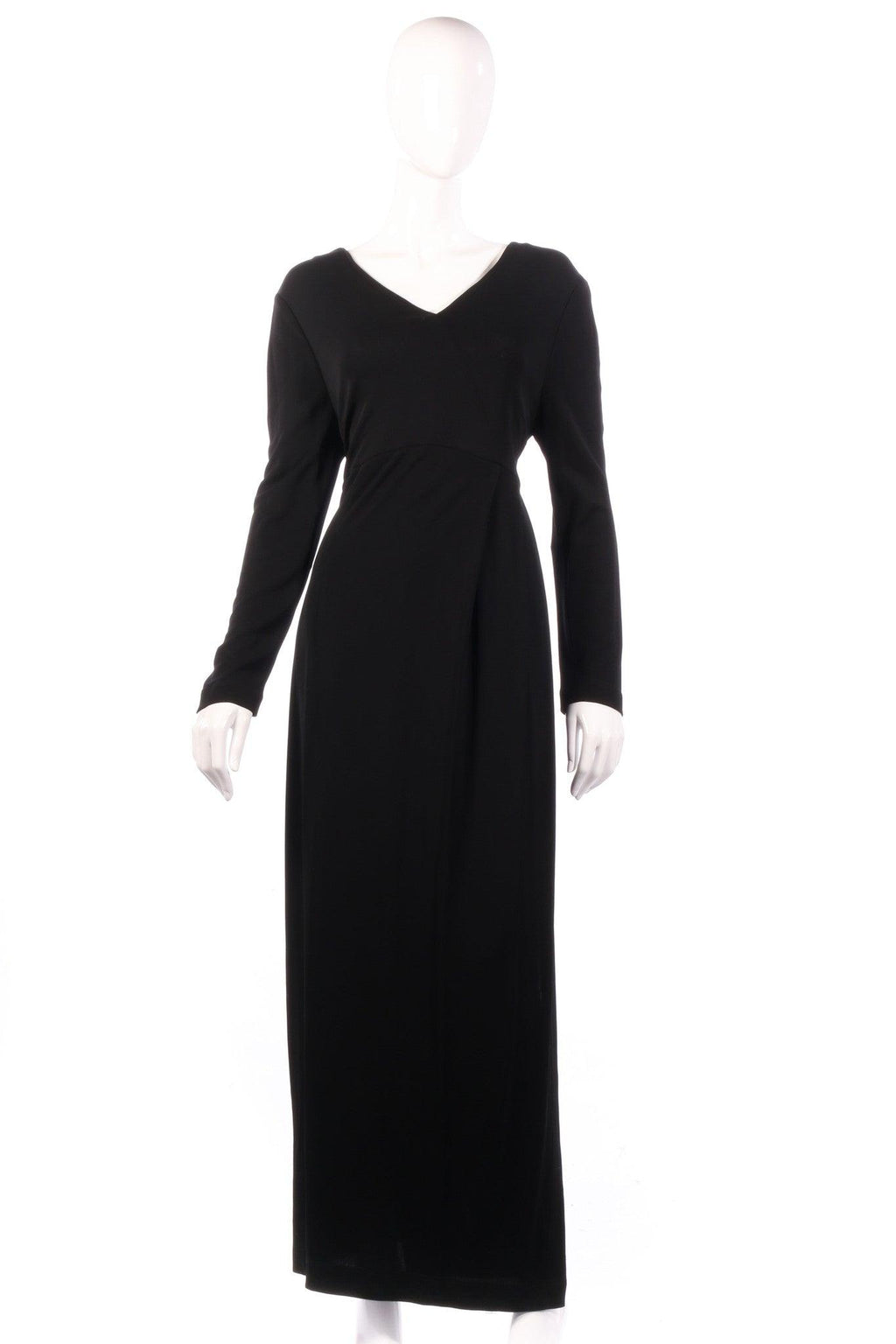 Joseph Janard black dress with detailed back size 14
