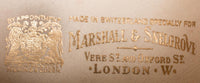 Marshall and Snellgrove vintage broquade shoes