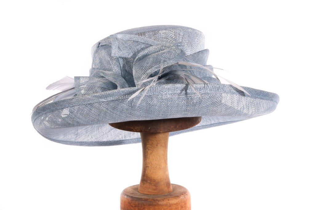 Failsworth millinery blue formal hat