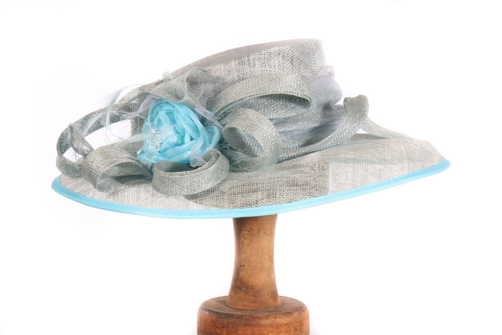 Balfour blue formal hat