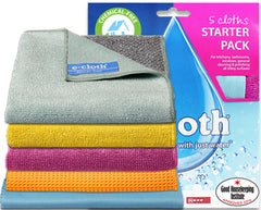 New Genuine E-Cloth Special Cleaning All Purpose Starter Pack For Household Use 80620 - Homespares.co.uk