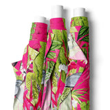 FABRIC BY THE METRE ~ Fuschia & Lime Pink