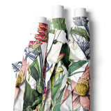FABRIC BY THE METRE ~ Lush White