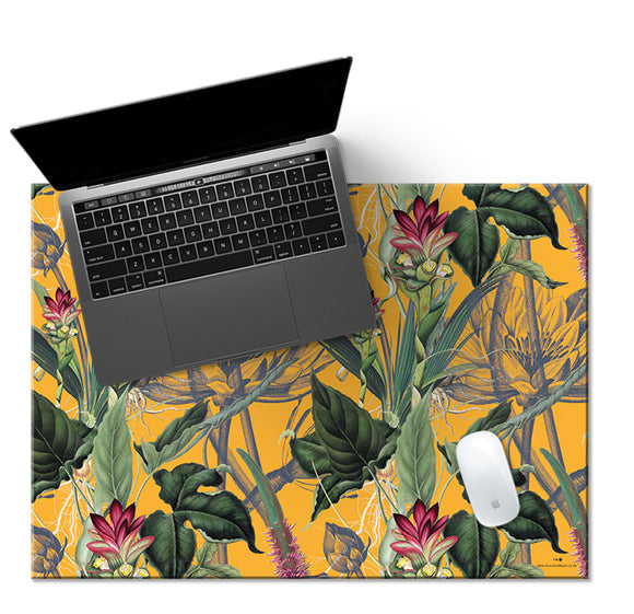 LUSH YELLOW Desk Mat